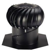 12 in. Whirlybird Aluminum Wind Turbine Roof Vents Exhaust Fan Attic Ventilation