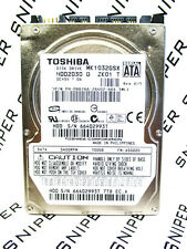 Toshiba 100GB MK1032GSX SATA (HDD2D30 D ZK01 T) Laptop HardDrive WIPED & TESTED!