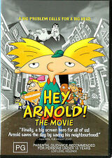 Hey, Arnold! THE MOVIE Brand New but UNSEALED Region 4