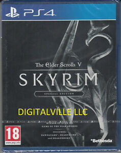 The Elder Scrolls V Skyrim Special PS4 Brand New factory Sealed PlayStation 4
