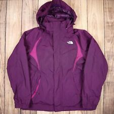 Women The North Face HyVent Ski Jacket Purple Size L Vintage Winter Coat