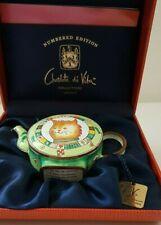 Collection Théière miniature chat CHARLOTTE  DI VITA* CM 65 et son  certificat