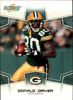 2008 Score Football Base Singles #109-226 (Pick Your Cards)