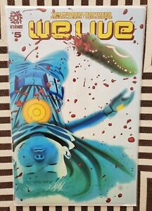 We Live #5 1st Appearance of Palladions Aftershock Comics