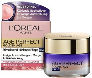 2 X L'Oréal Paris Age Perfect Golden Age Night With Facial Care 50ml