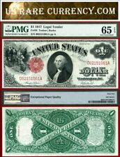 1917 $1 Legal Tender Note FR-36 PGG Gem 65EPQ