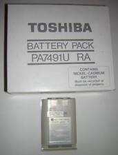 Genuine Toshiba Brand T1200 NiCd Main Battery Pack NEW Vintage