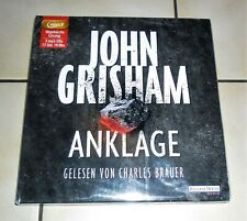 HÖRBUCH / 3 CD MP3 BOX - ANKLAGE - JOHN GRISHAM -- NEU IN OVP
