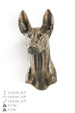 Pharaoh Hound dog statuette to hang on the wall, Art Dog , Ca