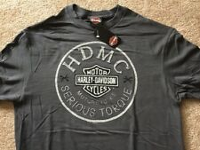 Harley Davidson Serious Torque gray Shirt Nwt Men's XL