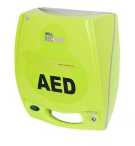 Zoll AED Plus Semi-Automatic Defibrillator, New Pads (Expiry date 2024), Case.