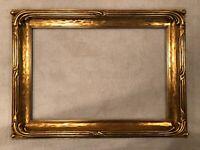Large Antique Boston Impressionist Arts & Crafts Period Gold Gilt Picture Frame