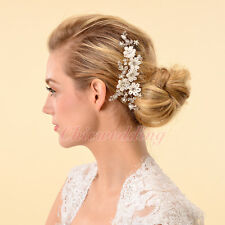 Grace Bridal Hair Comb Jewerly Crystal Little Flower Hairpin Clip Hair Accessory