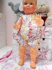 barboteuse ancienne pour  bébé 3 mois ou poupée reborn,baigneur 55cm