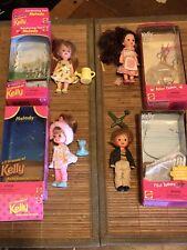 Mattel Barbie Kelly Club Garden Melody-Baker Chelsie-Tommy Pilot  Doll