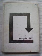 1977 KELVYN PARK HIGH SCHOOL YEARBOOK, CHICAGO, ILLINOIS  KELVYNIAN
