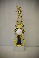 "13"" Baseball, Softball, T-Ball Sport Riser Trophy - Free Engraving"