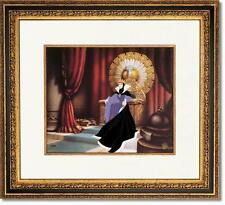"""Framed Disney Snow White """"The Wicked Queen"""" Cel LE 350"""