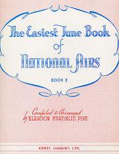 Plus facile Tunes national airs apprendre à jouer la guitare piano facile prendre musique Livre 2