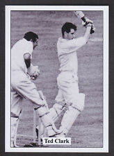 JF Collectibles - Cricketers In Action 1960s - # 10 Ted Clark - Middlesex