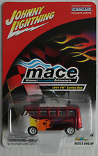 "Johnny White Lightning – VW Bus T1 Samba rotchrom mit Flammen ""MACE"" Neu/OVP"