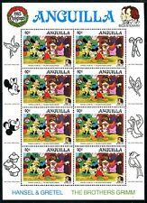 Anguilla 650 Walt Disney characters Hansel & Gretel, Disney, Mickey 1985 x10519
