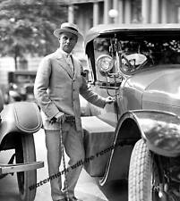 Photograph  American General Billy Mitchell Next to Car  1923  8x10