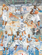 UK Kentucky WILDCATS '11-'12 National Champs Art Print by Steve Ford - BRAND NEW