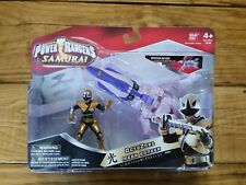 "Power Rangers Samurai 4"" Figure New Sealed Gold Mega OctoZord Zord Vehicle"