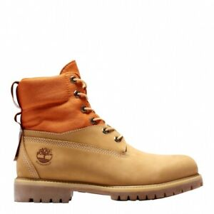 {A2EAC} TIMBERLAND MEN'S 6-INCH WATERPROOF REBOTL FABRIC BOOTS *NEW*