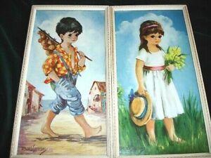 Two Vintage 1960's Dallas Simpson Prints