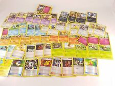 Pokemon TCG Card XY Base Set Lot 55 Different Cards (81 Total) 10 Holos