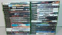 Lot of 34 Original Xbox Video Games No Manuals All Tested & Work Original Cases