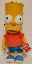 """2002 Applause The Simpsons Talking Bart 18"""" Standing Plush - NWT - Tested/Talks"""