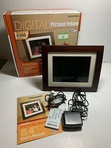 "SmartParts Digital LCD Picture Frame 8.4"" 4000 Pictures.  T4"
