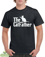 The Catfather Funny Cat T-Shirt Gift