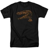 Jurassic Park Movie Spino Head Mount Spinosaurus Tee Shirt Adult S-3XL