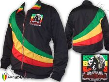 Jacket Tracksuit Double Layer Rasta Marley Soul Rebel Logo Embroidered Free Size
