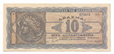 Greece 10 Billion Drachmas 1944, P-134