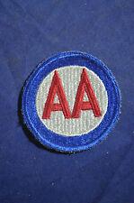 WW2 US Army Anti Aircraft Comand AA