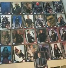 Marvel Cinematic Universe Topps Hero Attax Trading Card Game Bundle of 25 Cards
