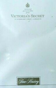 2 PAIR VICTORIA'S SECRET LADIES HOSIERY- NUDE- ULTRA SHEER - MEDIUM - NEW IN BOX