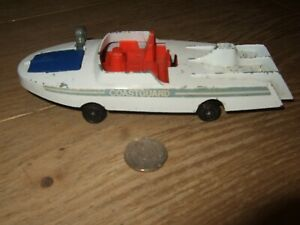 DINKY TOYS COASTGUARD MISSILE LAUNCH BOAT No 674 DIECAST RESTORATION OR SPARES
