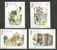 Macau - Ansichten von Macau Satz postfrisch 1998 Mi. 992-995