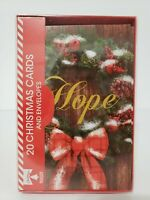 20 Christmas Cards and Envelopes (New Boxed) Navidad, Holidays, Greeting, Xmas