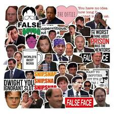 50pc Funny The Office Stickers Laptop Skateboard Fridge Suitcase Decals PnBlC