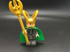 Lego Marvel Super Heroes Minifigure Loki From 6867