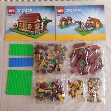 Lego 5766 Creator Log Cabin. Never Built. Bags Still Sealed. No Box