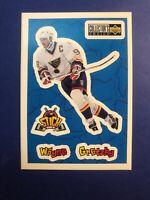1996-97 Upper Deck Collectors Choice Stick Um's #S1 Wayne Gretzky St Louis Blues