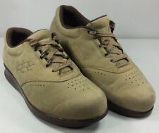 SAS Women��s Tripad Comfort Diabetic Walking Shoes Tan Suede USA EUC! Size 8? WW